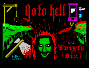 Go To Hell ZX Spectrum 01