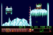 Holiday Lemmings 1993 Amiga 04