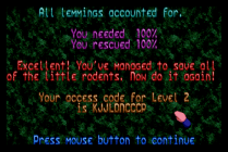 Holiday Lemmings 1993 Amiga 05