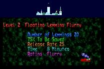Holiday Lemmings 1993 Amiga 06