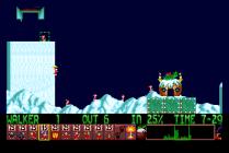 Holiday Lemmings 1993 Amiga 07