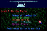 Holiday Lemmings 1993 Amiga 08