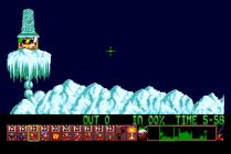 Holiday Lemmings 1993 Amiga 14