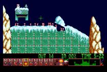 Holiday Lemmings 1993 Amiga 15