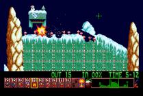 Holiday Lemmings 1993 Amiga 16