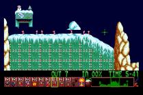 Holiday Lemmings 1993 Amiga 17