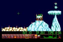 Holiday Lemmings 1993 Amiga 19