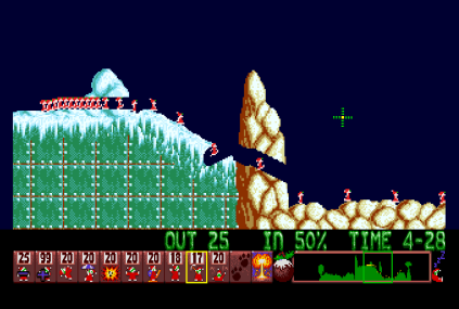 Holiday Lemmings 1993 Amiga 20