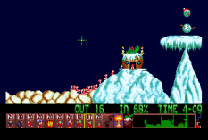 Holiday Lemmings 1993 Amiga 21
