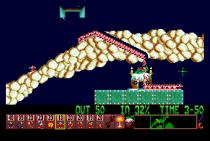 Holiday Lemmings 1993 Amiga 26