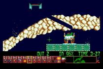 Holiday Lemmings 1993 Amiga 27