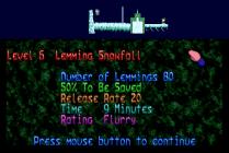 Holiday Lemmings 1993 Amiga 29