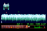 Holiday Lemmings 1993 Amiga 30