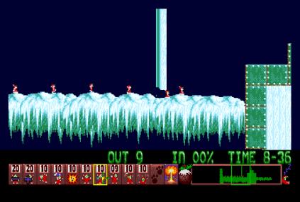 Holiday Lemmings 1993 Amiga 31