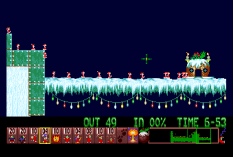 Holiday Lemmings 1993 Amiga 33