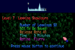 Holiday Lemmings 1993 Amiga 37