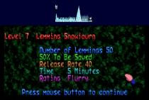 Holiday Lemmings 1993 Amiga 37