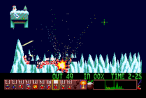 Holiday Lemmings 1993 Amiga 40