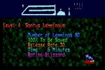Holiday Lemmings 1993 Amiga 41
