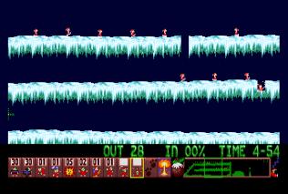 Holiday Lemmings 1993 Amiga 43