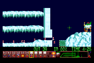 Holiday Lemmings 1993 Amiga 44