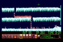 Holiday Lemmings 1993 Amiga 48