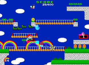 Rainbow Islands PC Engine 009