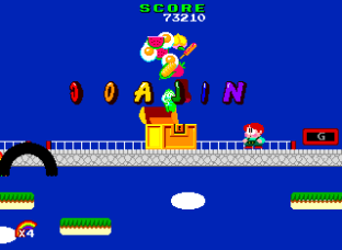 Rainbow Islands PC Engine 020