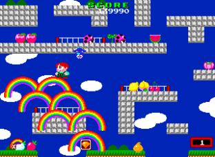 Rainbow Islands PC Engine 031