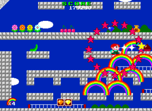 Rainbow Islands PC Engine 034