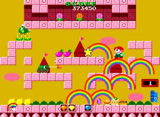 Rainbow Islands PC Engine 056