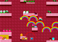 Rainbow Islands PC Engine 076