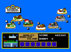 Rainbow Islands PC Engine 087