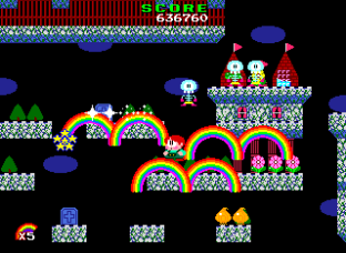 Rainbow Islands PC Engine 089