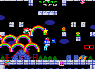 Rainbow Islands PC Engine 100