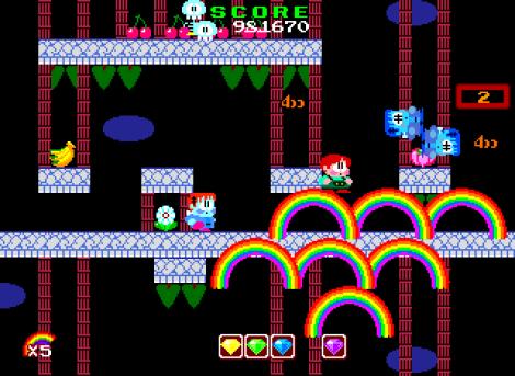 Rainbow Islands PC Engine 122