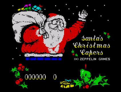 Santa's Christmas Capers ZX Spectrum 01
