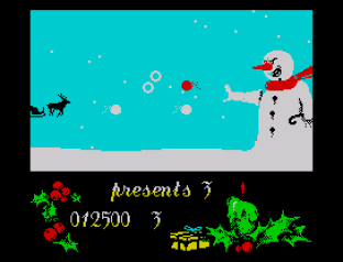 Santa's Christmas Capers ZX Spectrum 09