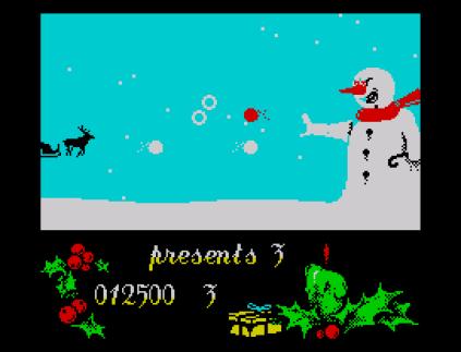 Santa's Christmas Capers ZX Spectrum 09