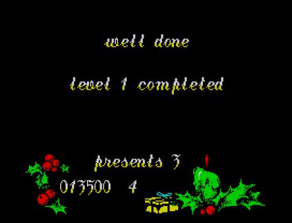 Santa's Christmas Capers ZX Spectrum 12