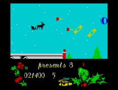 Santa's Christmas Capers ZX Spectrum 21