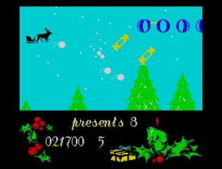 Santa's Christmas Capers ZX Spectrum 22