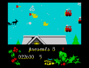 Santa's Christmas Capers ZX Spectrum 23