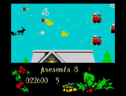 Santa's Christmas Capers ZX Spectrum 23