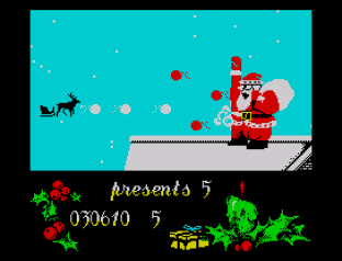 Santa's Christmas Capers ZX Spectrum 31