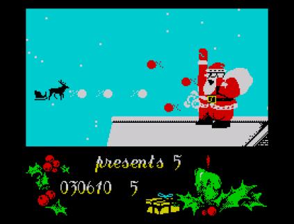 Santa's Christmas Capers ZX Spectrum 31