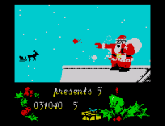 Santa's Christmas Capers ZX Spectrum 32