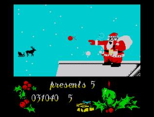 Santa's Christmas Capers ZX Spectrum 32
