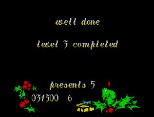 Santa's Christmas Capers ZX Spectrum 33