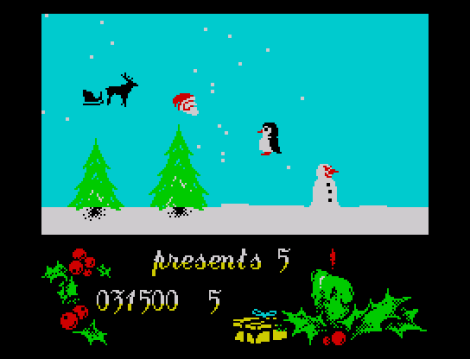 Santa's Christmas Capers ZX Spectrum 34